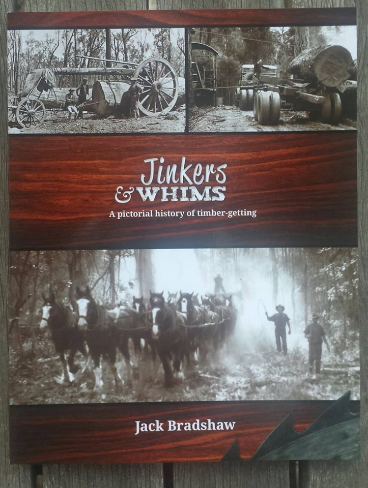 JInkers & Whims book draught horse timber logging WA