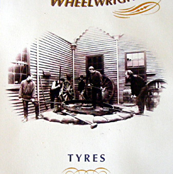 tyres book close up