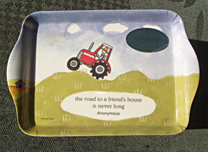 Tractor Scatter Tray