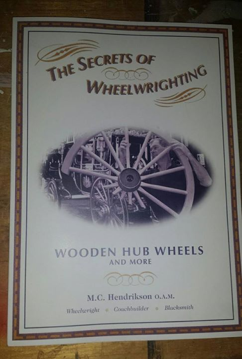 Wooden hub wheels and more - secrets of wheelwrighting book